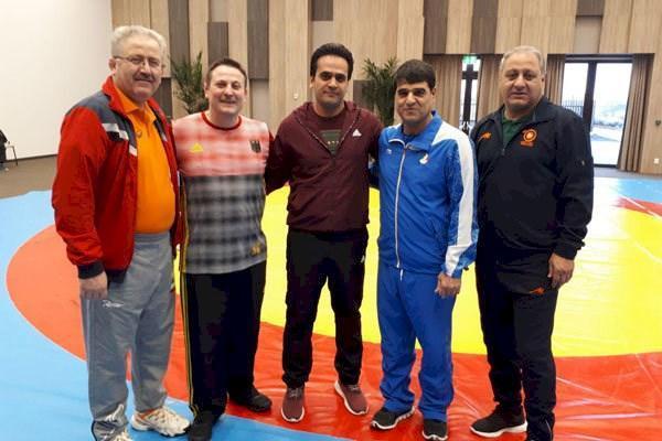 قضاوت سه داور المپیکی کشتی ایران در جهانی بوداپست