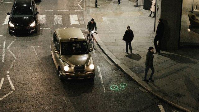 دوچرخه سواری ایمن با یاری لیزر
