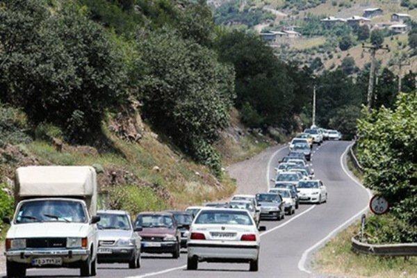 جزئیات ترافیک در محورهای اصلی، اعلام محدودیت تردد در جاده ها
